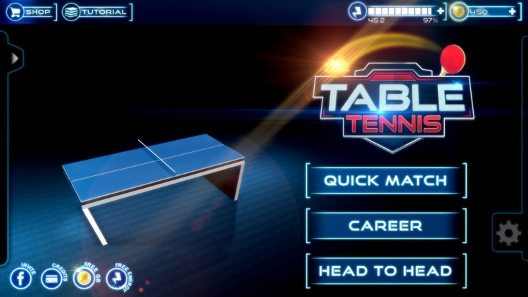 Virtual Ping Pong: Play Real Table Tennis screenshot-0