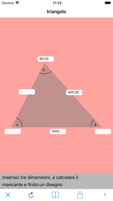 Screenshot of triangolo1