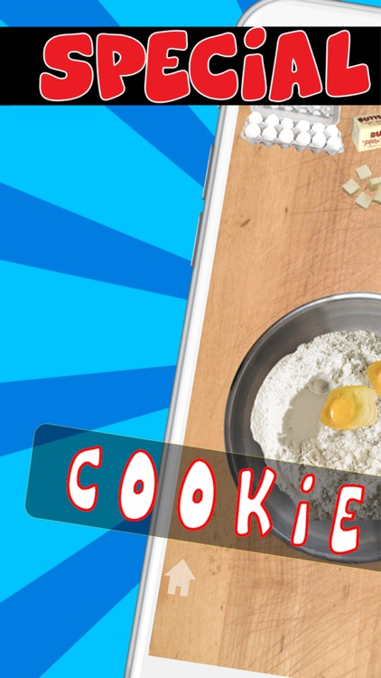 Cookie Maker Food Cooking Games for Kids and Girls