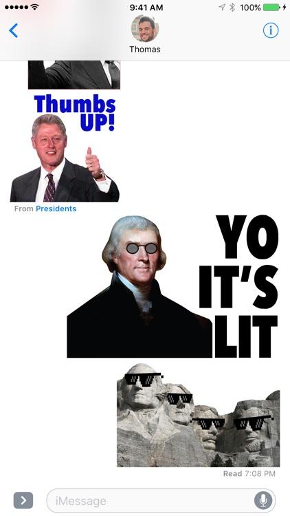 Presidential Sticker Pack