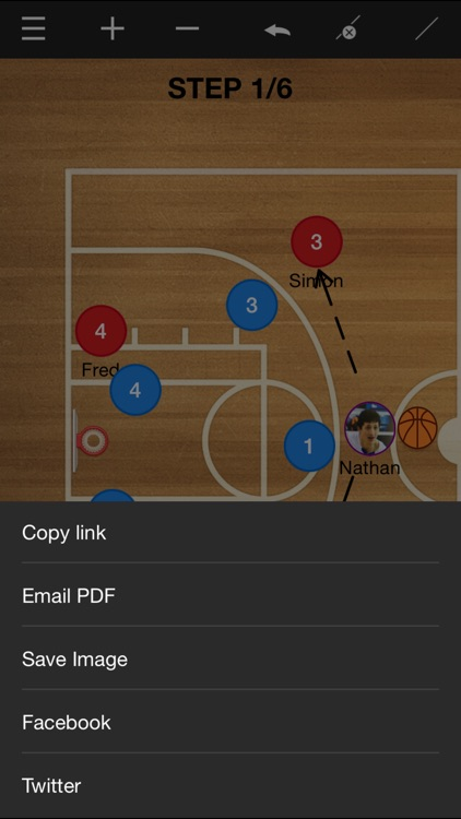 Basketball coach's clipboard screenshot-3