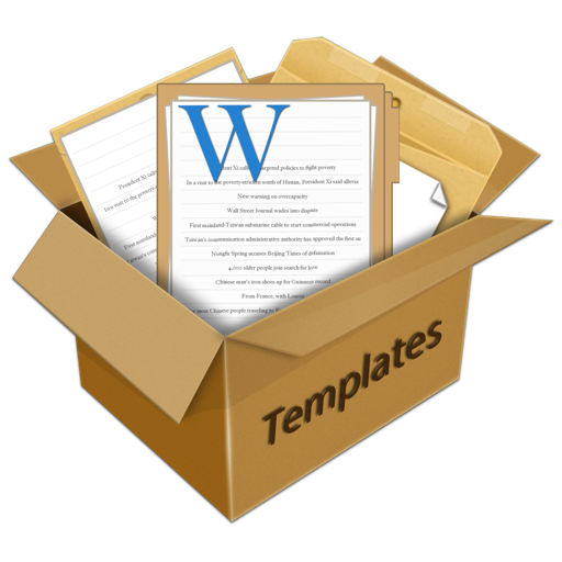 Templates for MS Word by Fututime