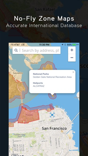 Hover App For Drone DJI FreeFlight Pilots On The App Store - No fly zone for drones map