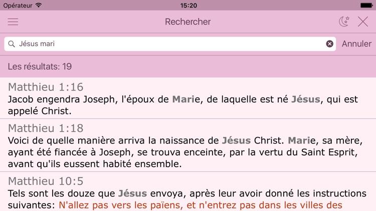 La Bible pour la Femme (Louis Segond Audio Version) The Women´s Bible in French screenshot-3