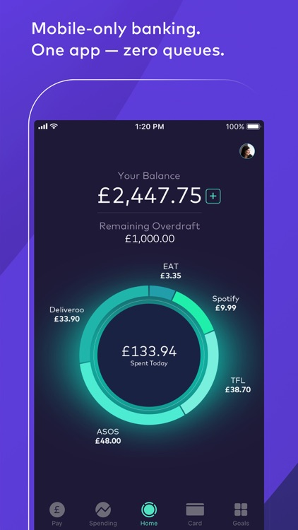 Starling Bank screenshot-1
