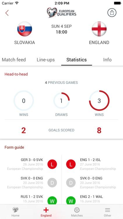 UEFA European Qualifiers screenshot-3