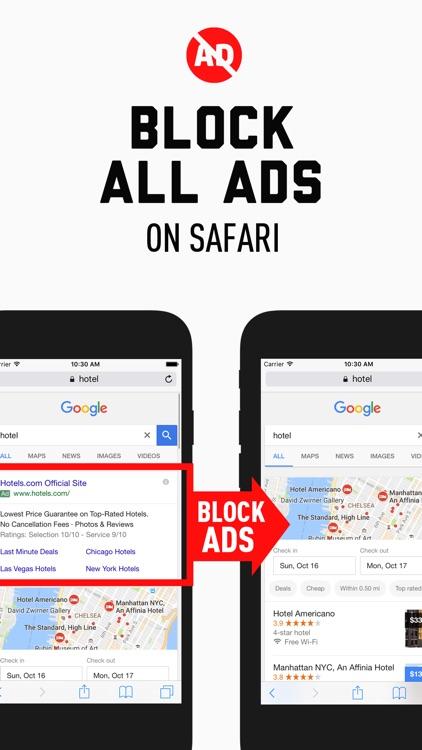 Ad Blocker - Block Ads & Save Data Usage for Free