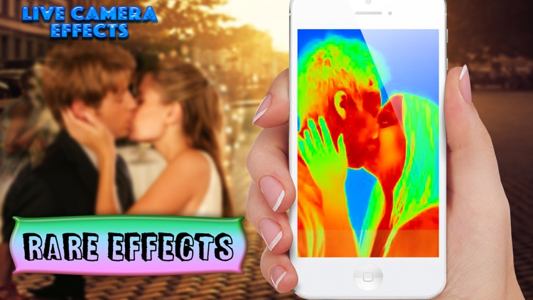 Live Camera Effects - UV, Thermal, x-ray