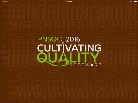 Screenshot of PNSQC: Pacific NW Software Quality Conference