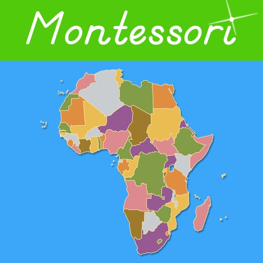 Africa - Montessori Geography icon