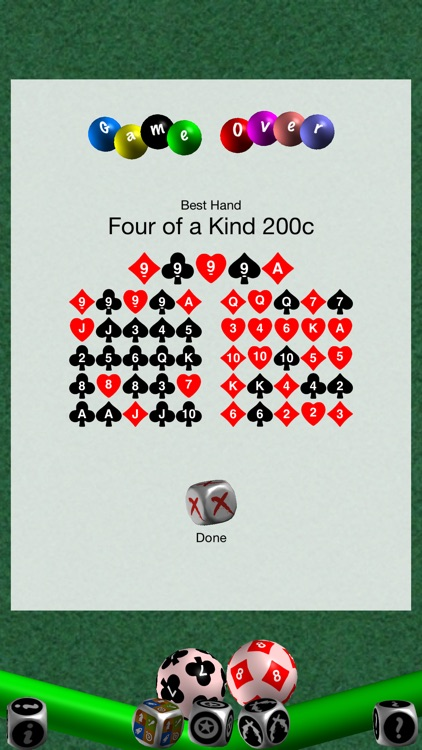 52 Cards Poker Solitaire, w / Shootouts screenshot-4
