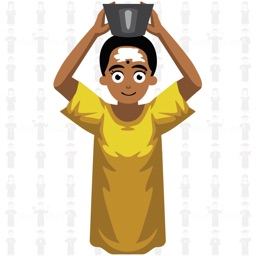 Woman Avatar: Animated Sticker