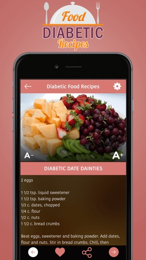 Diabetic food recipes on the app store forumfinder Choice Image
