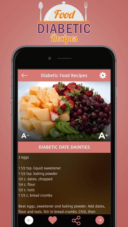Diabetic Food Recipes screenshot-3