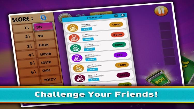 Yatzy Mania - Classic Yahtzee Dice Skill Game Free screenshot-3