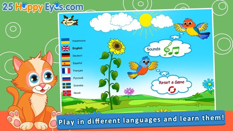 Joyful Animals for Kids - puzzle game for children screenshot-4