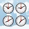 世界時計, 目覚まし時計, 時間帯