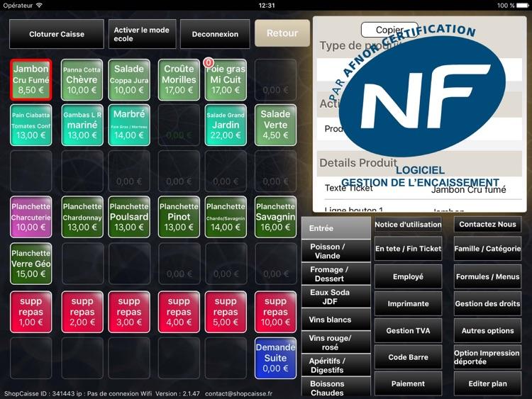 ShopCaisse - Cash register screenshot-4