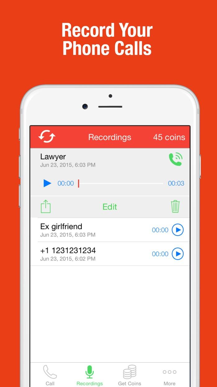 Call Recorder - Record Phone Conversations Screenshot