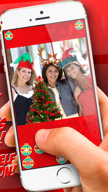Christmas Photo Booth 2016 - Santa Camera Stickers