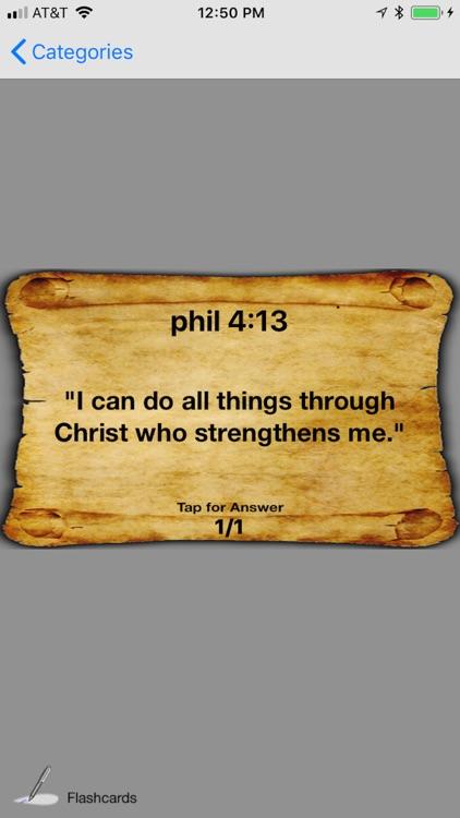Bible Verse Flashcard Maker screenshot-4