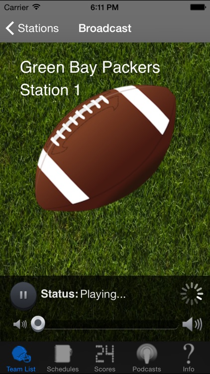 Pro Football Radio & Live Scores + Highlights screenshot-2