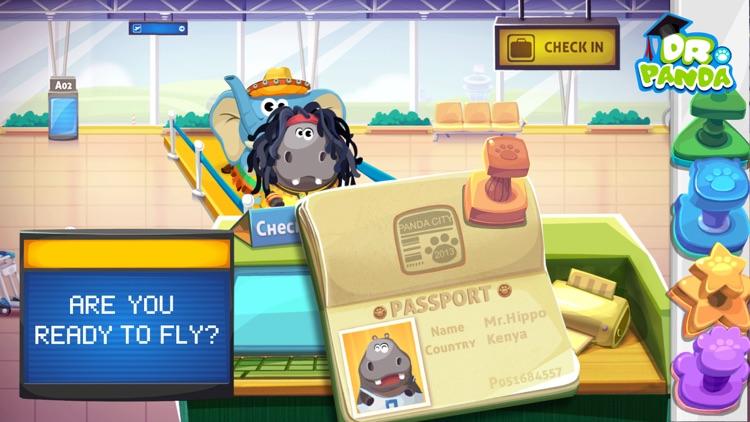 Dr. Panda Airport screenshot-0
