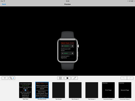 Screenshot #4 for AppCooker Prototyping & Mockup