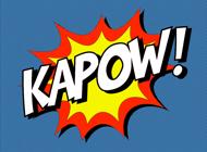 Ka-Pow! Comic Sound Effect Bubbles