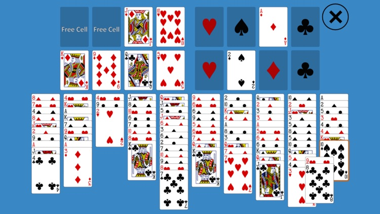 Solitaire FreeCell Two Decks