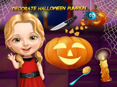 Скачать игру Sweet Baby Girl Halloween Fun - Spooky Makeover & Dress Up Party - No Ads