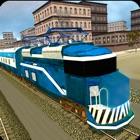 Condução na cidade Metro Train icon