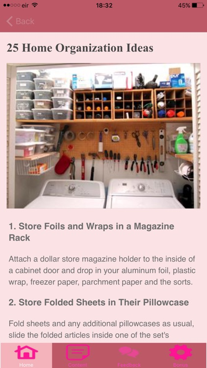 How To Organise Your Home