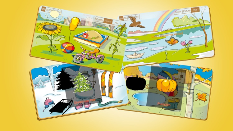 Wunderkind - seasons, education game for youngster and cissy screenshot-3