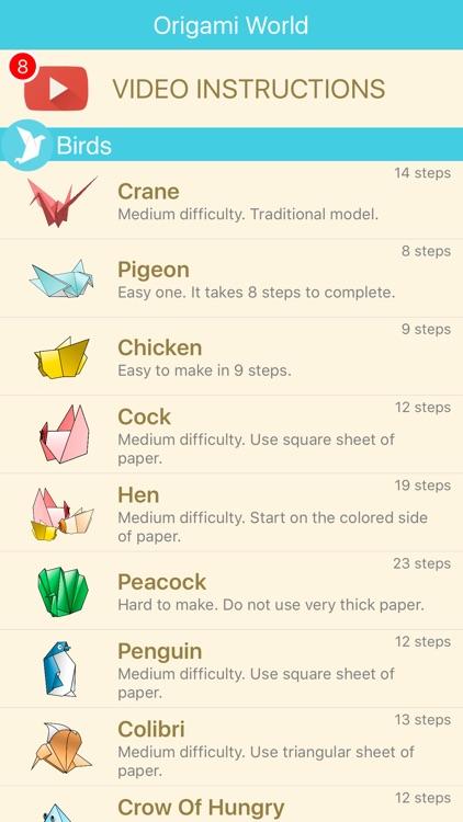 ORIGAMI 3D: explore new magic paper creations