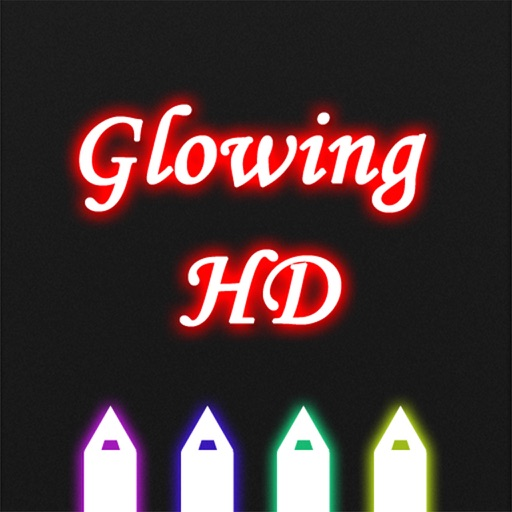 GlowingText HD for iPhone