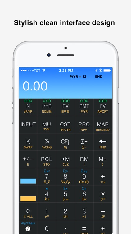 10bii Financial Calculator by Vicinno