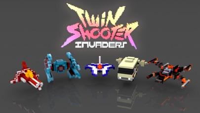 Twin Shooter - InvadersScreenshot von 1