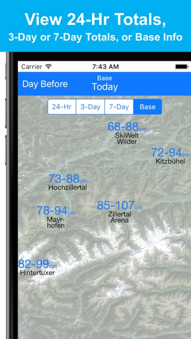 Alps Snow Map - Snow Reportsのおすすめ画像4