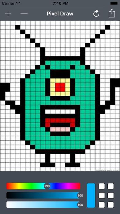 Pixel Art Drawingのおすすめ画像2