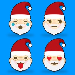 Merry Christmas Emoji - Holiday Emoticon Stickers & Emojis Icons for Message Greeting