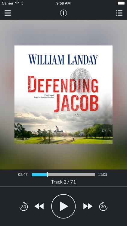 Defending Jacob (by William Landay)