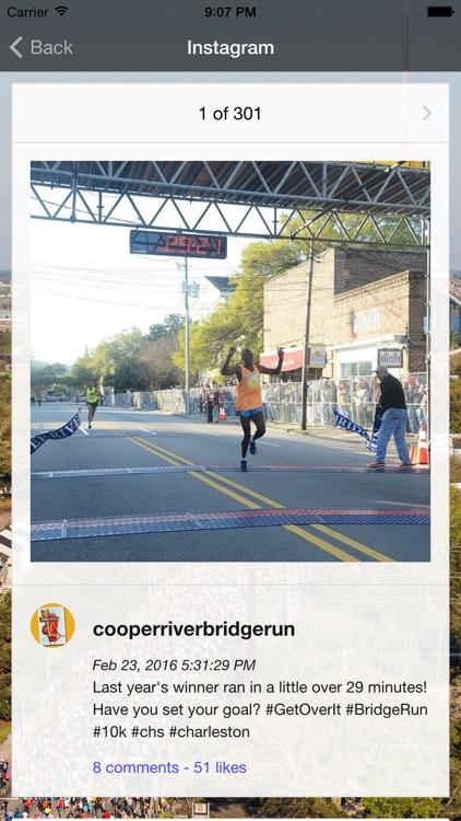 The Cooper River Bridge Run screenshot-3