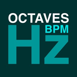 Hz BPM Octaves Calculator