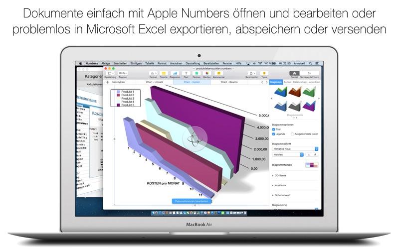 点击获取German Templates For Numbers 2016