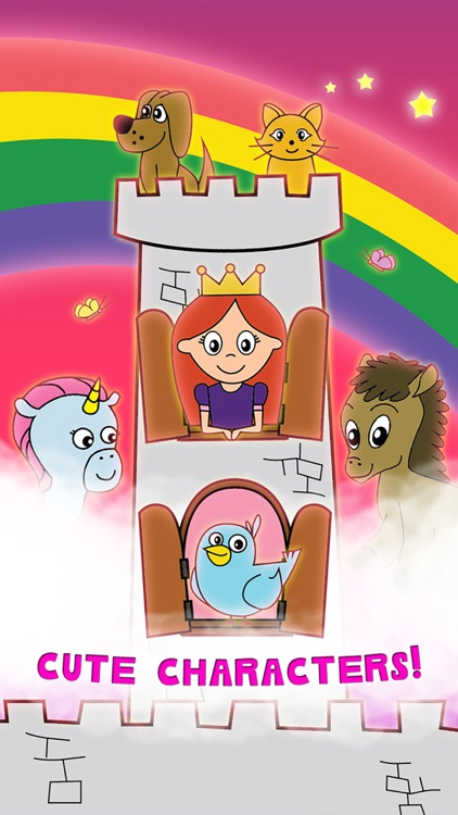 Princess Fairy Tale Coloring Wonderland for Kids and Family Preschool Ultimate Edition screenshot-1