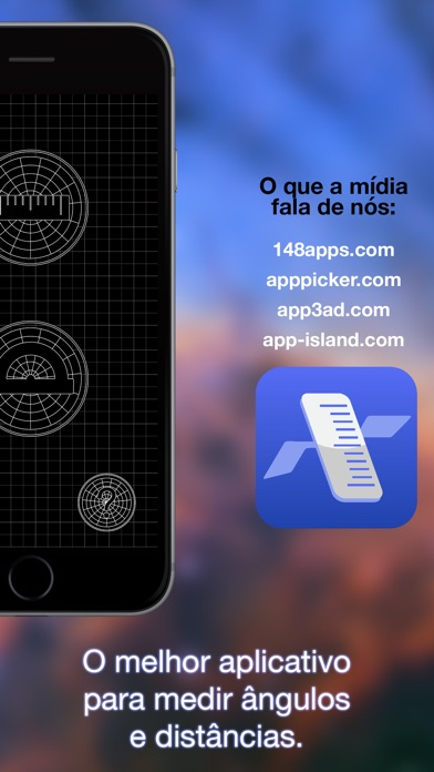 Screenshot for Sob medida – Flying Ruler in Brazil App Store