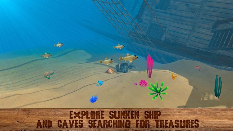 Pirate Island Survival Simulator 3D screenshot-4