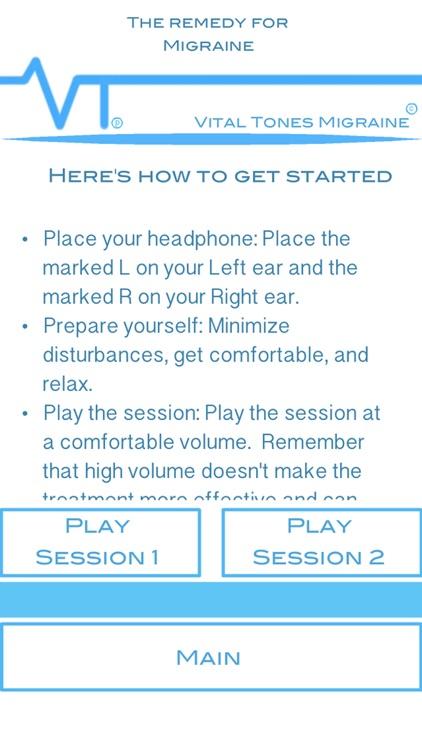 Vital Tones Migraine Pro