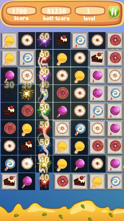 Sweet Blast Cupcake- Amazing Match3 Puzzle screenshot-1